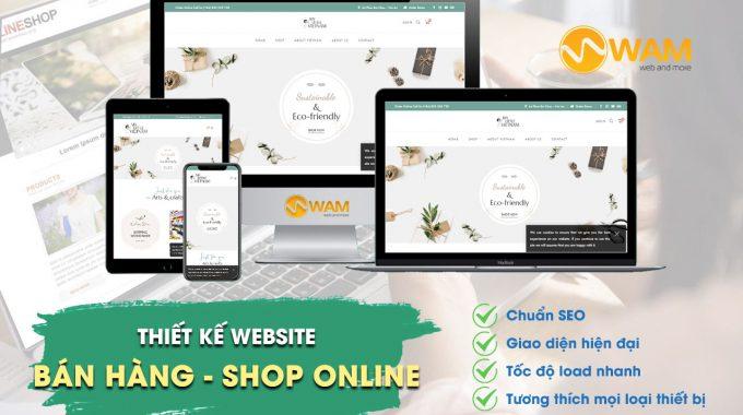 Thiết Kế Website Bán Hàng – Shop Online