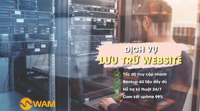 Dịch Vụ Lưu Trữ Website (Web Hosting)