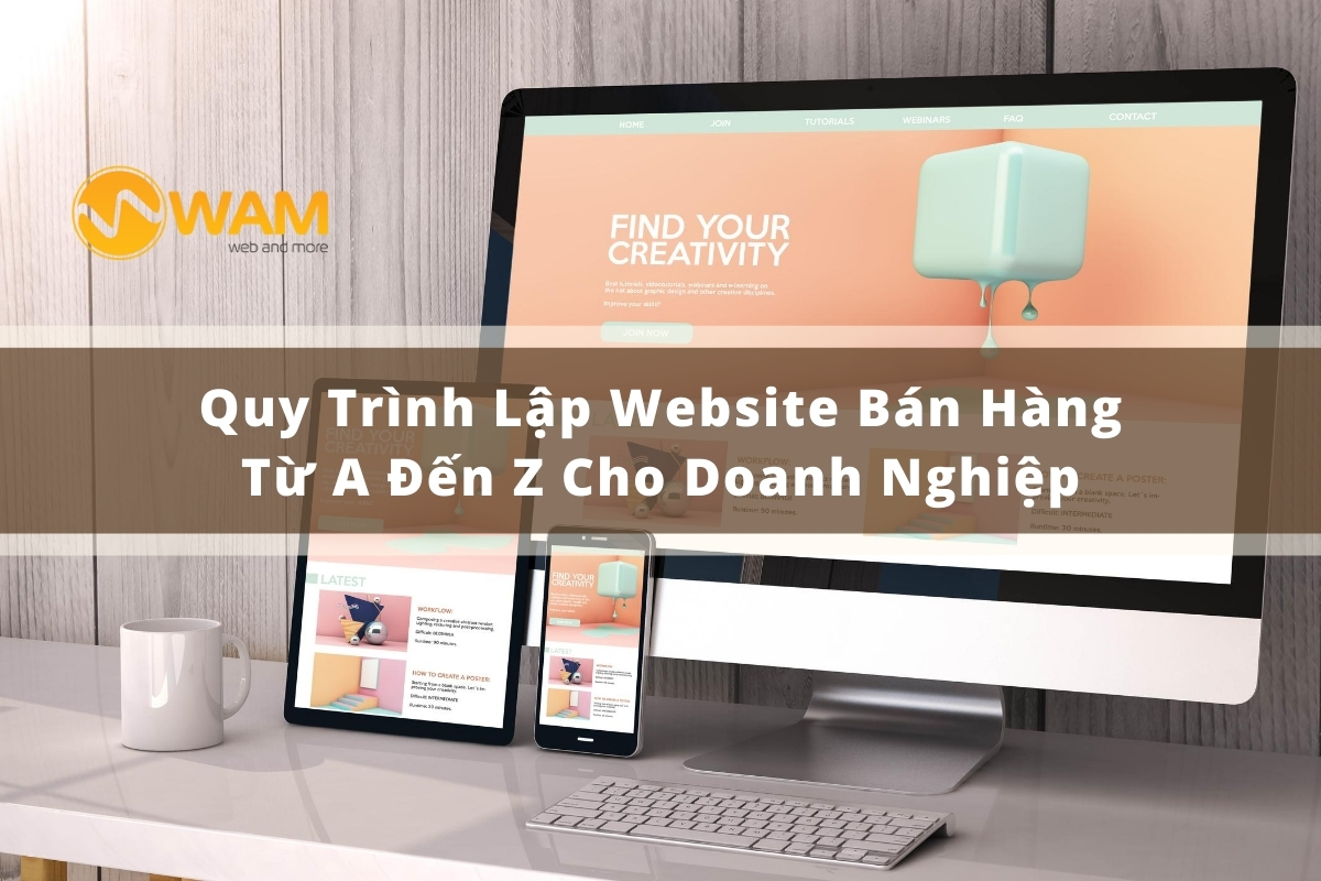 Quy Trình Lập Website Bán Hàng